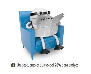 Cupón Webempresa con un 20% de descuento