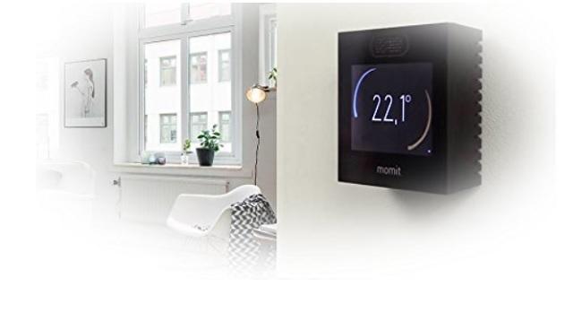 descripción termostato momit smart uso