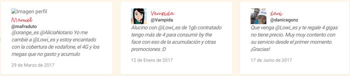 Opiniones de Lowi
