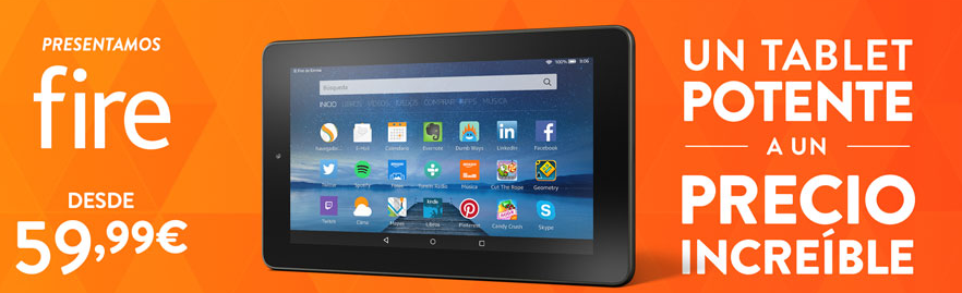 Tablet Fire Amazon