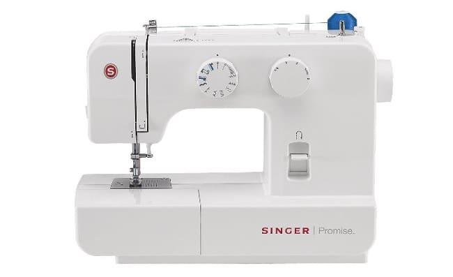 descripción maquina de coser singer promise 1409