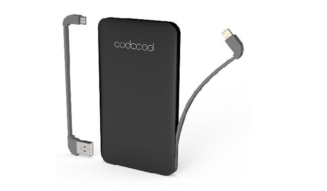 Batería para el móvil Dodocool Mini Batería Externa MFI