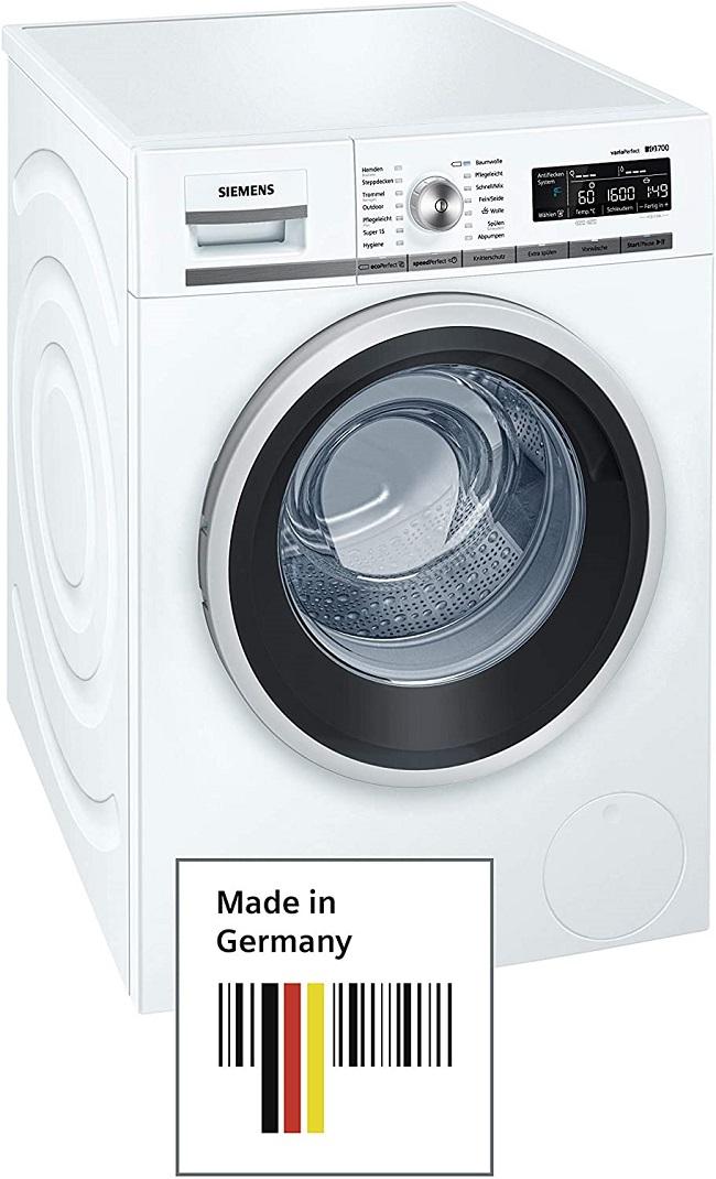 descripcion lavadora siemens