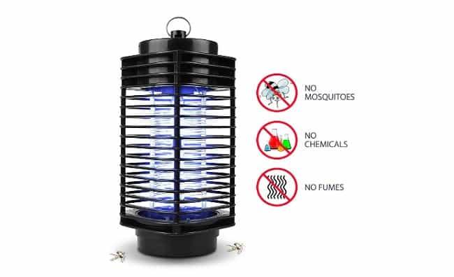 descripción lampara antimosquitos nuoyo