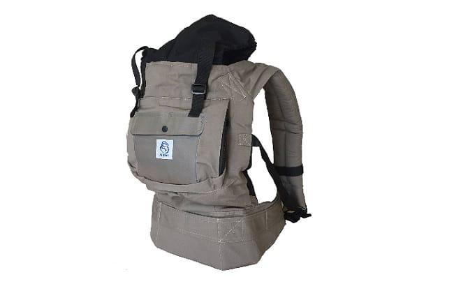 Descripción mochila portabebes mipies
