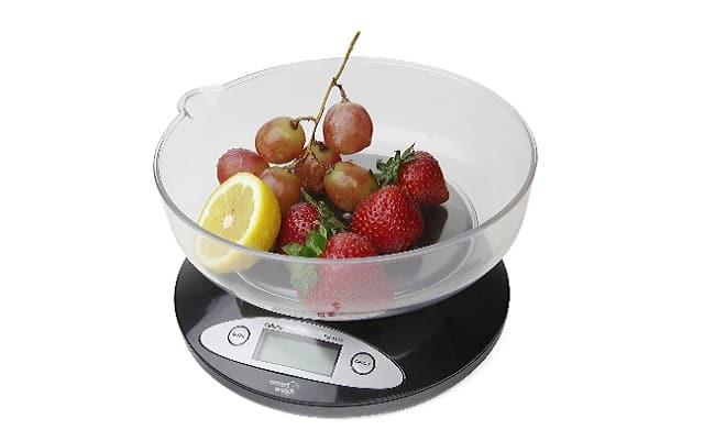 descripción bascula cocina Smart Weigh CBS5KG