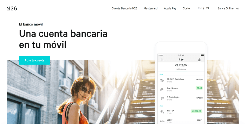 Review N26 banco