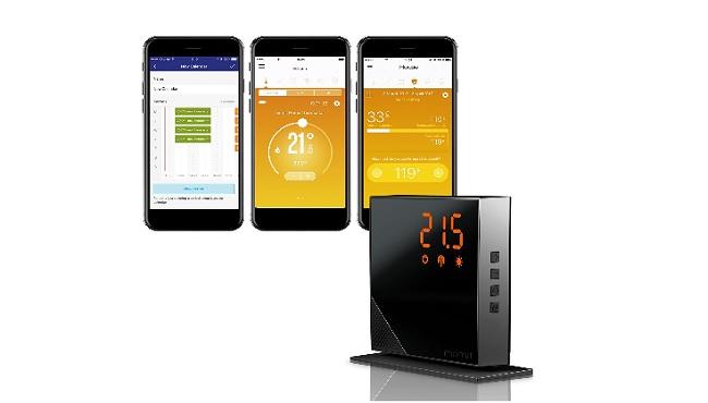 descripción termostato momit home uso