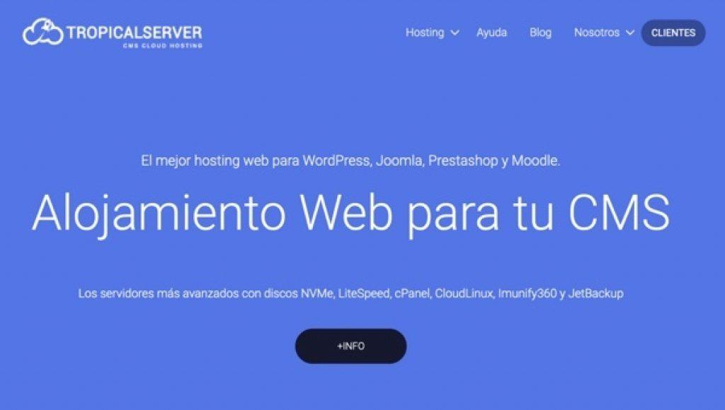 Tropical Server hosting