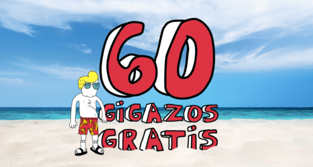 60 gigas gratis con Lowi