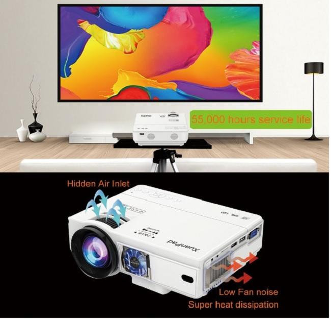 descripción proyector xuanpad