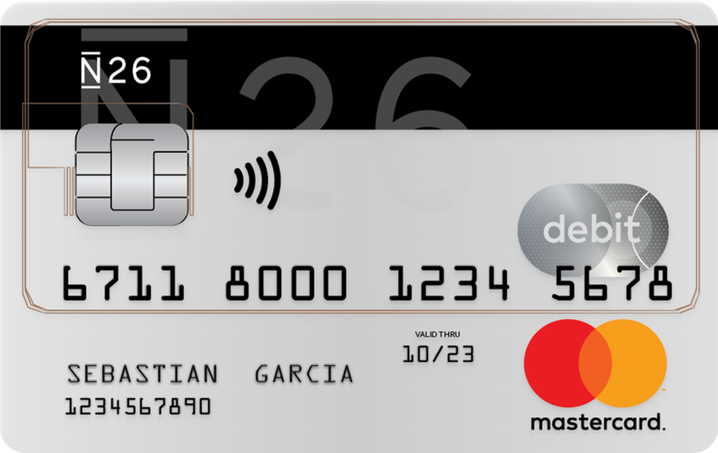 N26 tarjeta sin comisiones