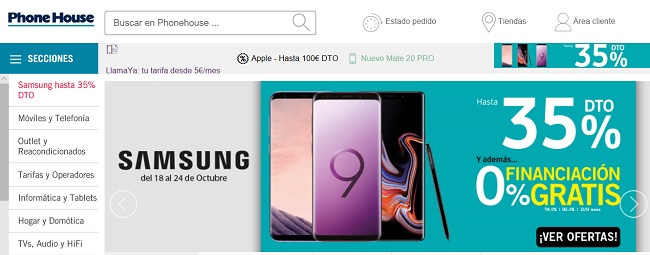 Comprar en The Phone House