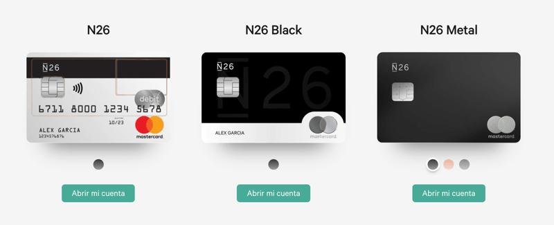 Código de promoción tarjeta n26