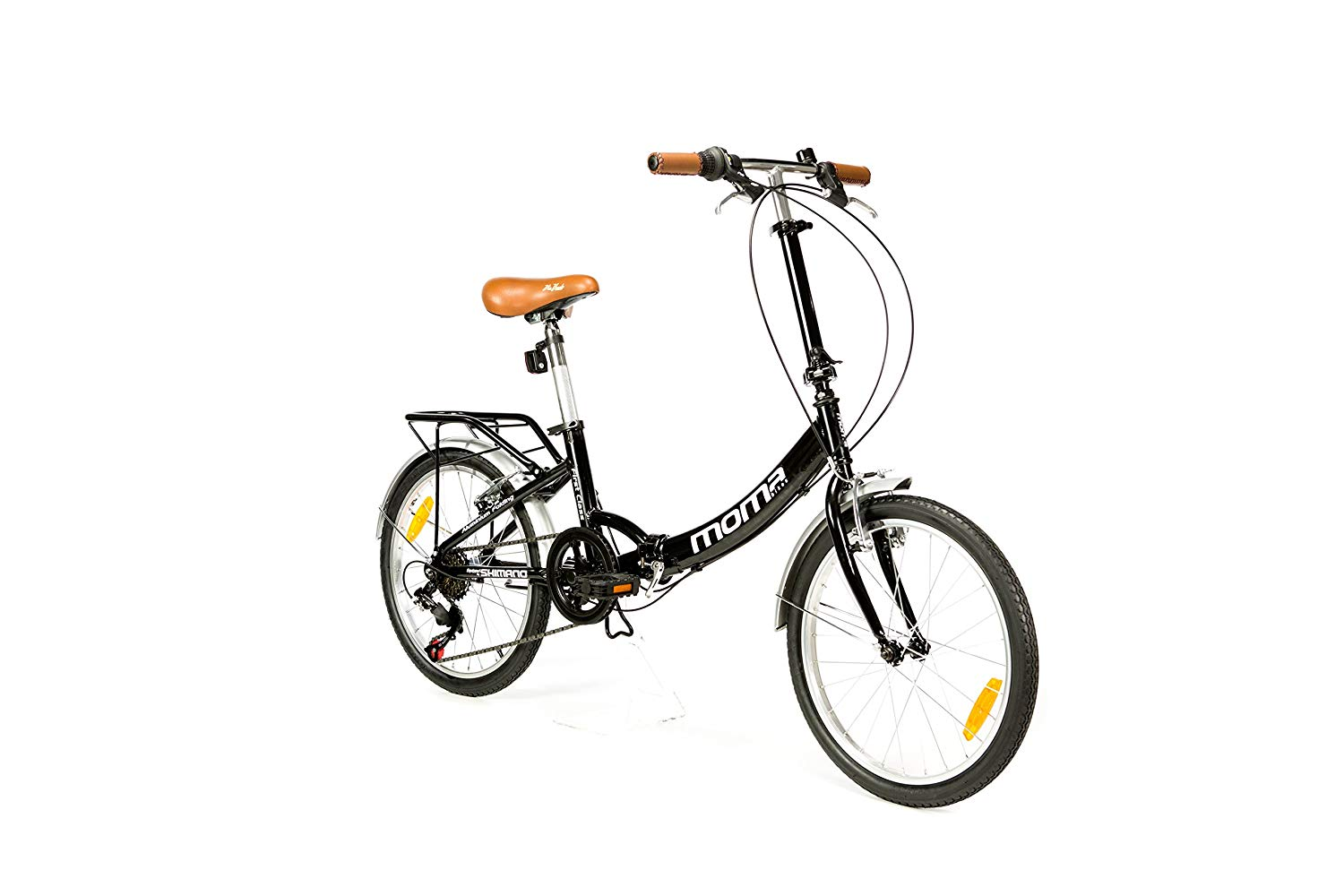 descripcion bicicleta moma bikes plegable