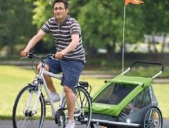 Los mejores remolques de bicicleta para niños